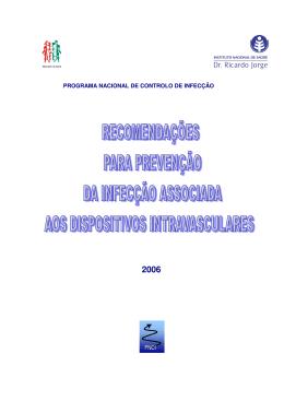 programa nacional de controlo de infecção pnci - Direcção