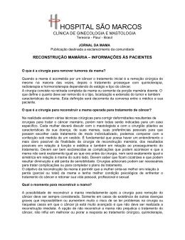 Março 2011.03 - RECONSTRUÇÃO MAMÁRIA