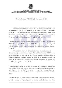 Ofício n - Biblioteca Digital do MPF