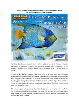 Tintas Eucatex patrocinam exposição e oficina de arte para crianças