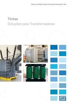 Tintas - Soluções para transformadores