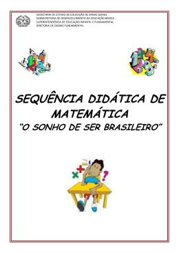 SEQUÊNCIA DIDÁTICA DE MATEMÁTICA