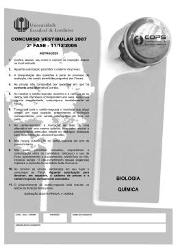 BIOLOGIA QUÍMICA - Cops