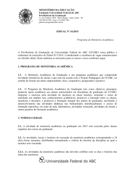 Edital Nº 016/2015 - Prograd