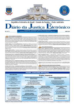 PODER JUDICIÁRIO ESTADUAL Órgãos