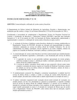 Instrução de Serviço 21. 2001