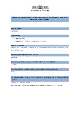 Reedição de 300 bandejas - Constituição da República Portuguesa
