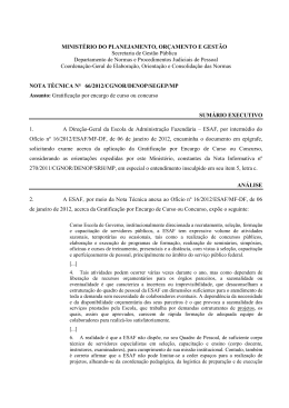 NOTA TÉCNICA 66 - 2012 - Instituto Federal do Tocantins