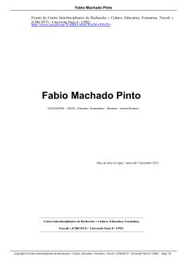 Fabio Machado Pinto