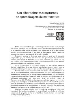Clique aqui para ler o Artigo... - Associação Brasileira de Dislexia