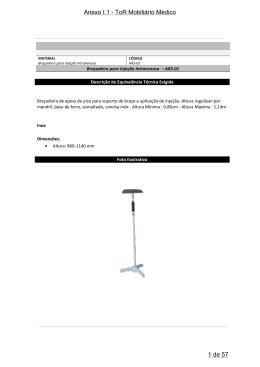 Anexo I.1 - ToR Mobiliário Médico 1 de 57