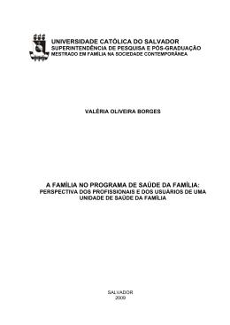 UNIVERSIDADE CATÓLICA DO SALVADOR A - início