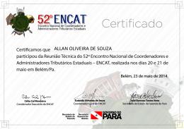 ALLAN OLIVEIRA DE SOUZA
