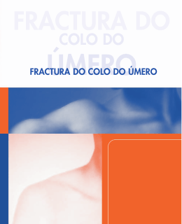 fractura do - Sociedade Portuguesa de Ortopedia e Traumatologia