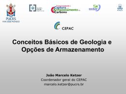 Conceitos Básicos de Geologia e Opções de Armazenamento