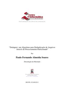 Paulo Fernando Almeida Soares