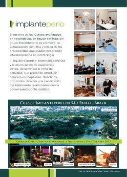 Cursos Implanteperio en São Paulo