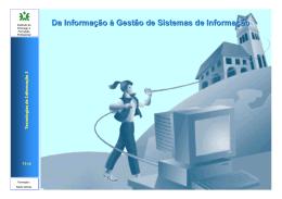 Tecnologias de Informação I