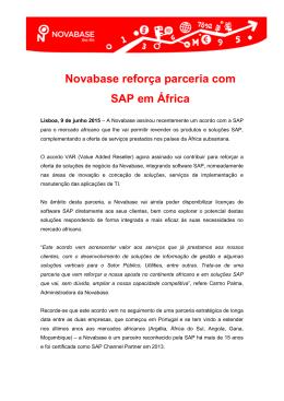 Novabase reforça parceria com SAP em África