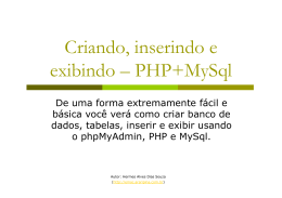 Tutorial de phpMyadmin
