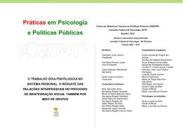 Práticas em Psicologia e Políticas Públicas - Crepop