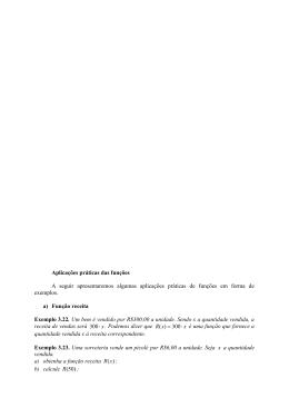 21 Figura 3.27 Propriedades da função logaritma Para todo , valem