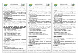 Requisitos para Adesão, Inclusão e Exclusão do Ipasgo 1. Adesão