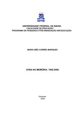 Maria Ines Marques - RI UFBA
