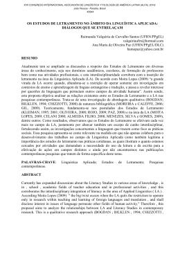 Trabalho Completo - Asociación de Linguística y Filología de