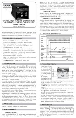Manual de Instruções LWAC-02