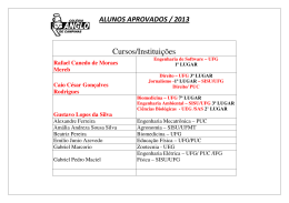 Cursos/Instituições - Colégio Anglo de Campinas