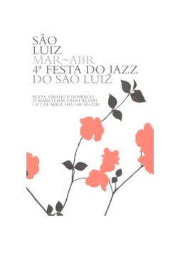 4ªFesta do Jazz do São Luiz