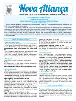 15/11/2015 - Diocese de São José dos Campos