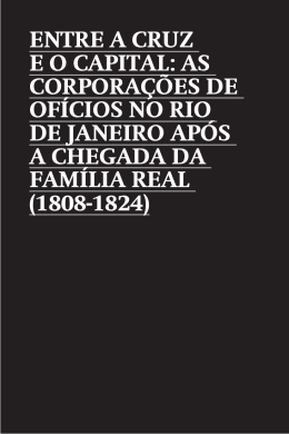 entre a cruz e o capital - Portal da Prefeitura da Cidade do Rio de