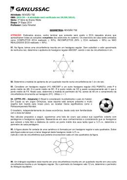 Atividade: REVISÃO TSE OBS: (ECA 04 – A atividade será