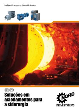 Soluções em acionamentos para a siderurgia