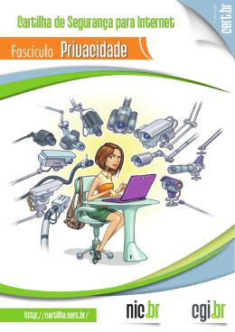 Fascículo Privacidade - Cartilha de Segurança para Internet