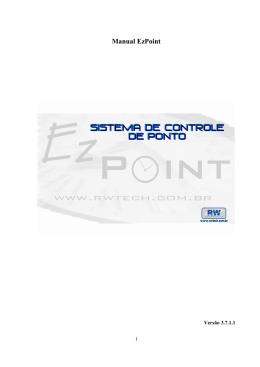 Manual EzPoint 3.7.1.1
