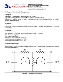 I2 I1 - + - + R3 R2 R1 15 V 12 V