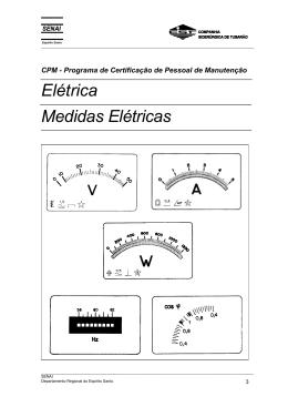 Elétrica Medidas Elétricas