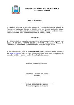 Matinhos-PR - NC- UFPR - Universidade Federal do Paraná