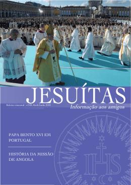 AbrJun 2010 - Jesuítas em Portugal