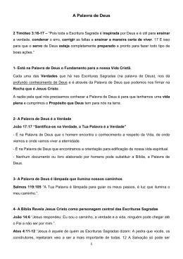 A Palavra de Deus - mpcasadeoracao.com.br
