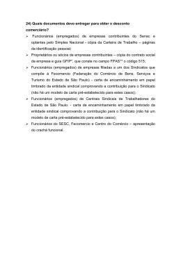 24) Quais documentos devo entregar para obter