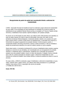 Av. Paraná, 999 | São Geraldo | Cep: 90240-600