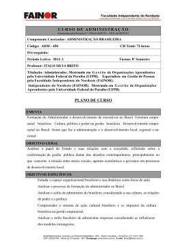 Administração Brasileira