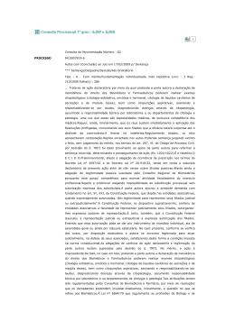 Sentença - Conselho Regional de Biomedicina 1ª Região