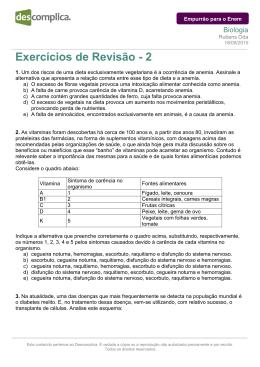 Exercícios de Revisão - 2