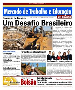 Edição nº 01 – Dezembro/2012 - Colégio e Faculdade Silva e Souza