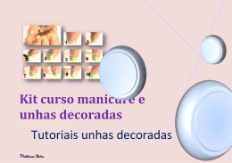 Kit curso manicure e unhas decoradas